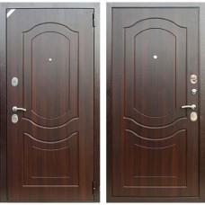 Входная дверь Зетта Комфорт 3 Д1 Венеция (Орех тёмный)