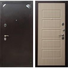 Входная дверь Зетта Евро 2 Б2 Домино (Венге белёный)