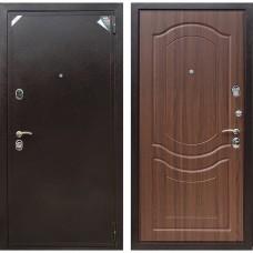 Входная дверь Зетта Евро 2 Б2 Венеция (Орех тиснённый)