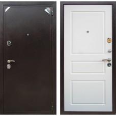 Входная дверь Зетта Евро 2 Б2 Система (Эмаль белая)