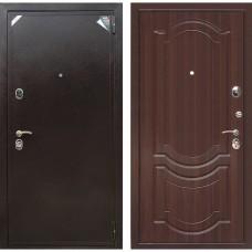 Входная дверь Зетта Евро 2 Б2 Грация (Орех тёмный)