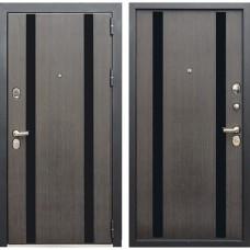 Входная дверь Зетта Премьер 100 К2 Метро (Венге сатин / Венге сатин)