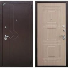 Входная дверь Зетта Комфорт 2 Б1 Бастион (Венге белёный)