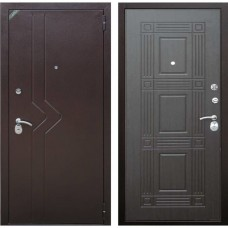 Входная дверь Зетта Комфорт 2 Б1 Бастион (Венге)